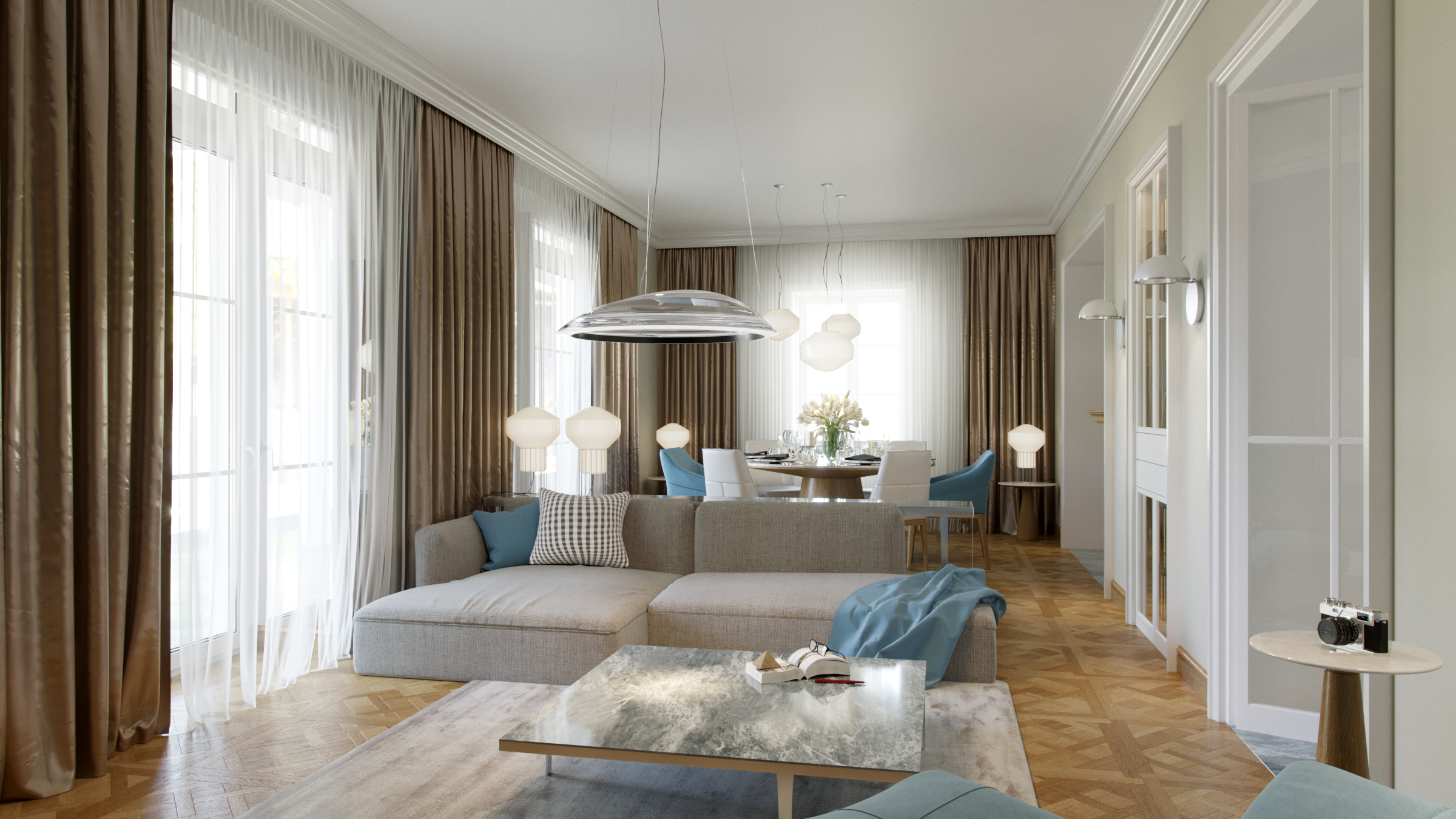 Stilvolle 5-Zimmer Wohnung in Garmisch-Partenkirchen
