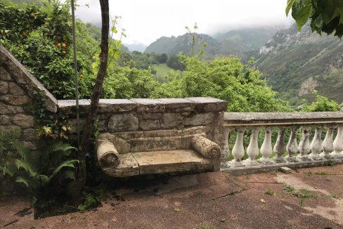 1055 casa piedra tradicional venta stone house for sale vistas montana mountain views near cangas de onis asturias northern spain